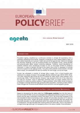 AGENTA Policy Brief No. 2