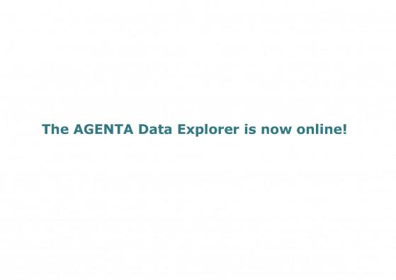 AGENTA Data Explorer